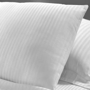 Yastık Kılıfı Çizgili Saten
