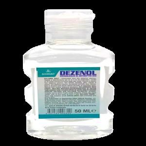 Dezenol Hidroalkolik El Antisepeptiği 50 ml Flip Top